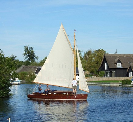 Traditional Hunter's Heritage Fleet Yacht